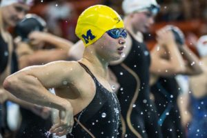 MacNeil Earns Another Honor, Wins Big Ten Swimmer of the Meet