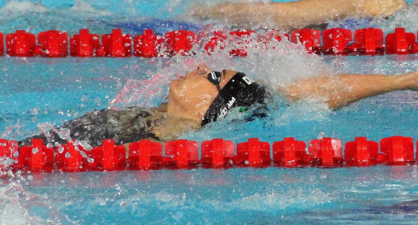 Dolfin Swim of the Week: Panziera Rising In 200 Back