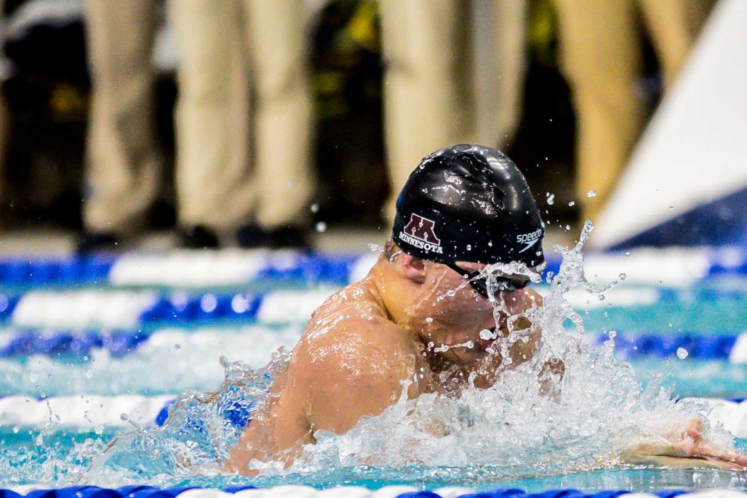 McHugh Brothers Battle in 200 Breast, Beata Nelson Hits PR in Minneapolis