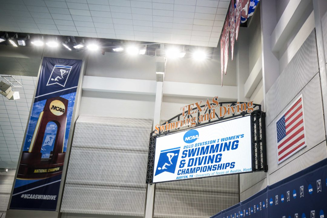 2019 Women's NCAA Championships: Day 3 Scored Prelims