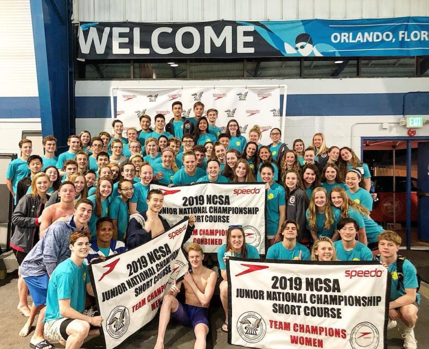 NCAP Wins 9th-Straight NCSA Spring Juniors Combined-Gender Title