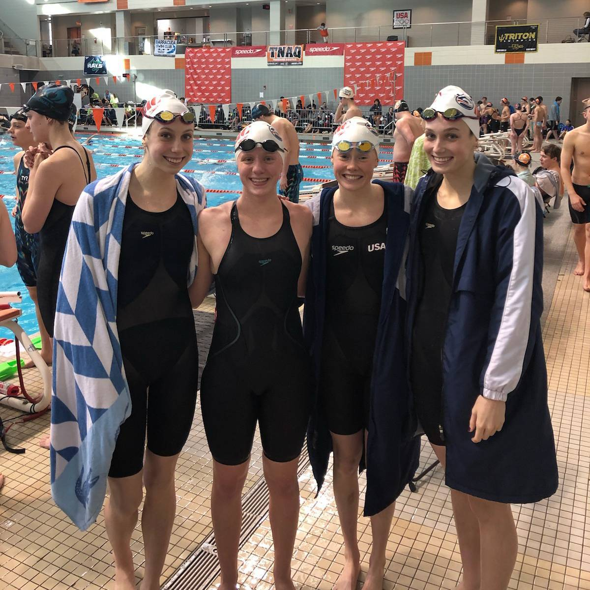 Nashville Aquatic Club Breaks National Age Group Record in