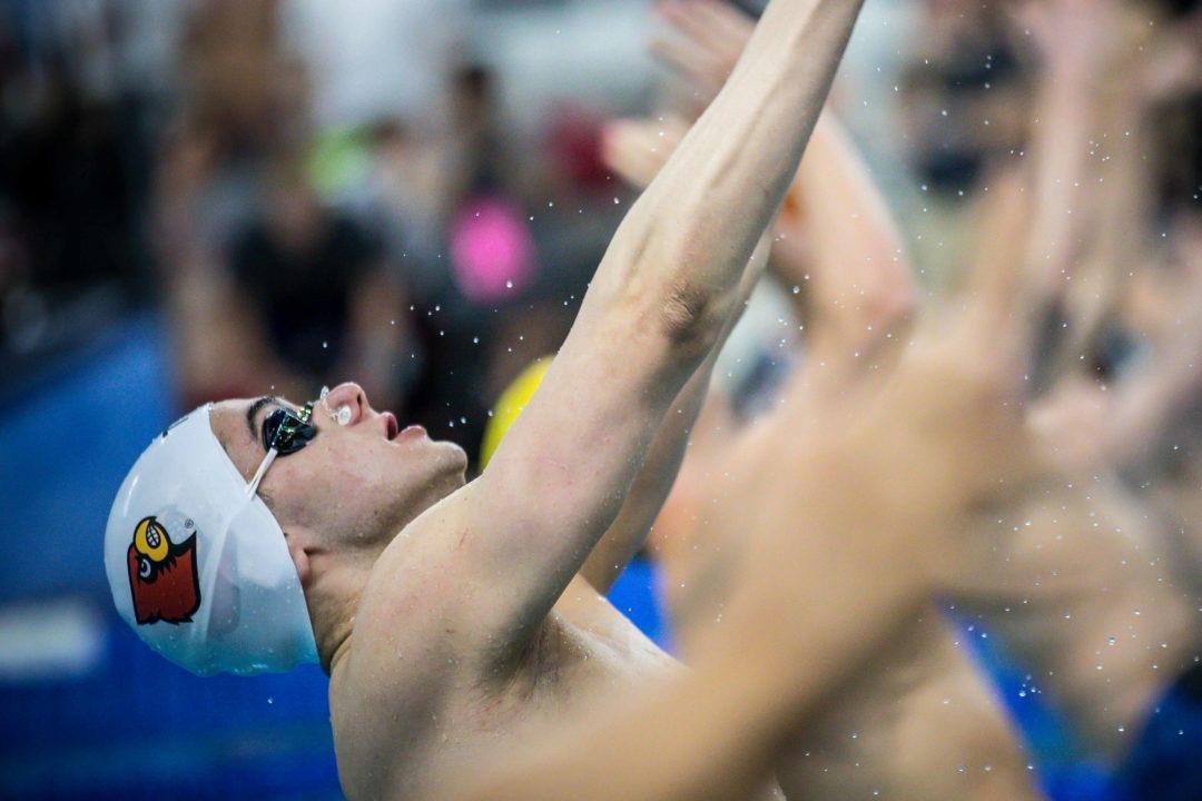 2020 ACC Men's Champs: Watch Three Men Go Under 45 in 100 Back