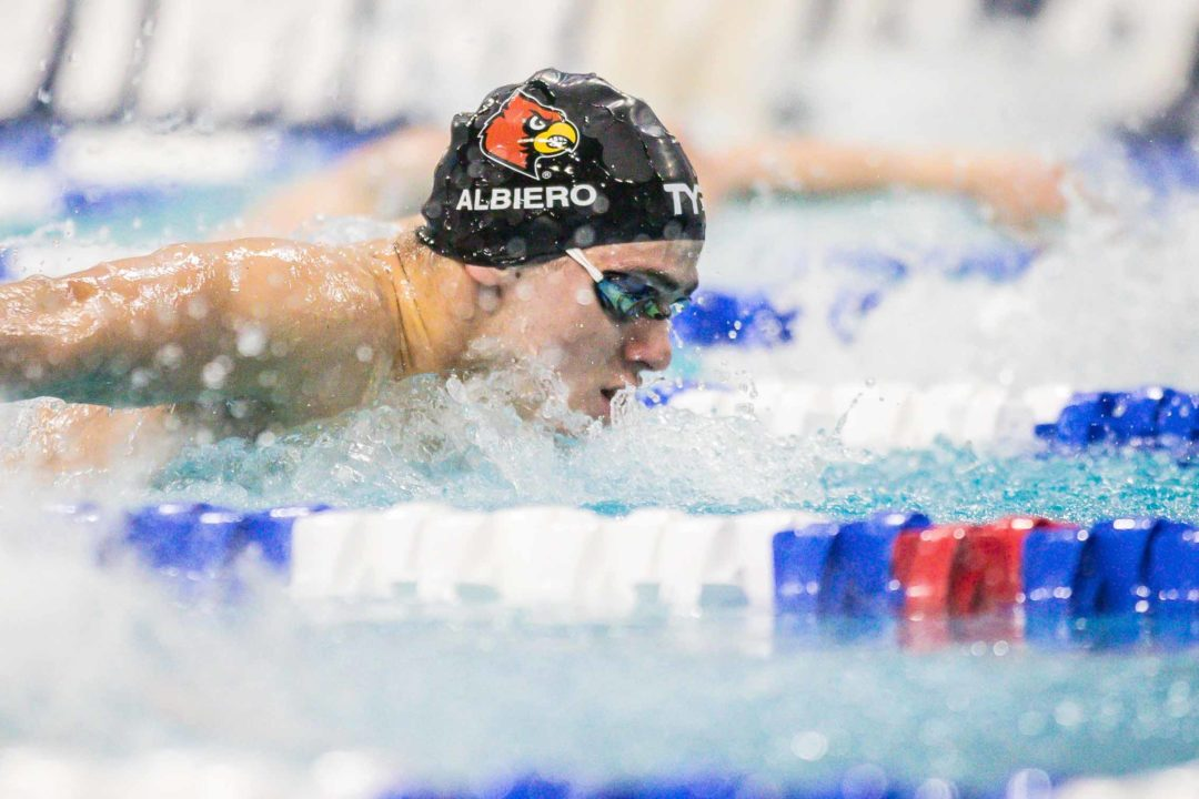 Albiero Breaks Pool Record as U of L Men, UK Women Win Battle of the Bluegrass