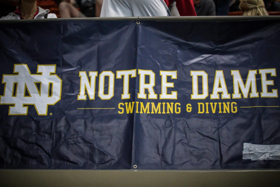 Notre Dame Fighting Irish Pivot To Home Meet vs. Cincinnati