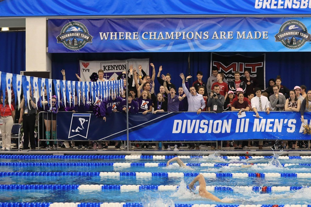 Denison Women, Kenyon Men Remain on Top in February 5 CSCAA D3 Poll