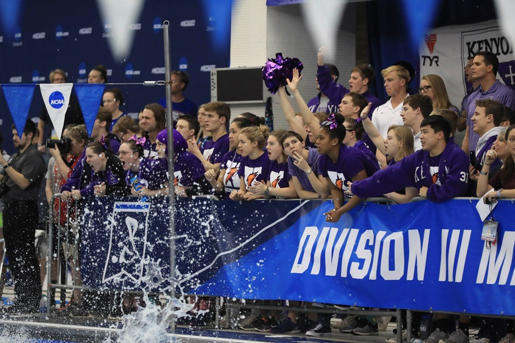 Denison Leads Division III with 20 Men Named to 2020 CSCAA All-American Team