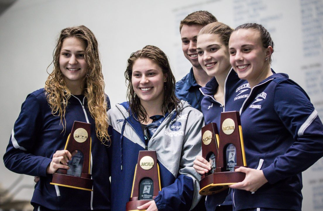 BSN Sports Swim Team of the Week: Queens University Royals