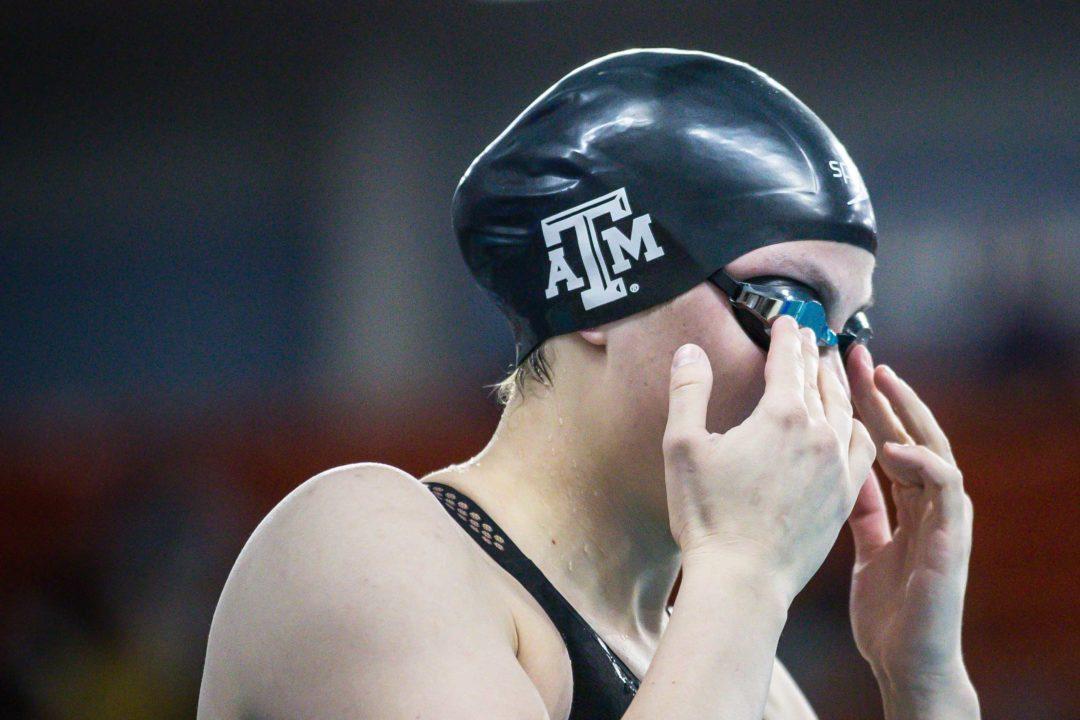 Raena Eldridge Wins Two as Texas A&M Takes Out SMU