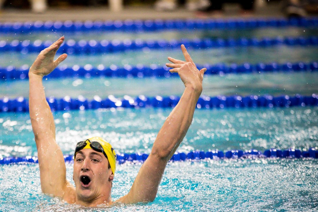 Cal Men Win 17 of 18 Swimming Events En Route To Fourth-Straight Pac-12 Title