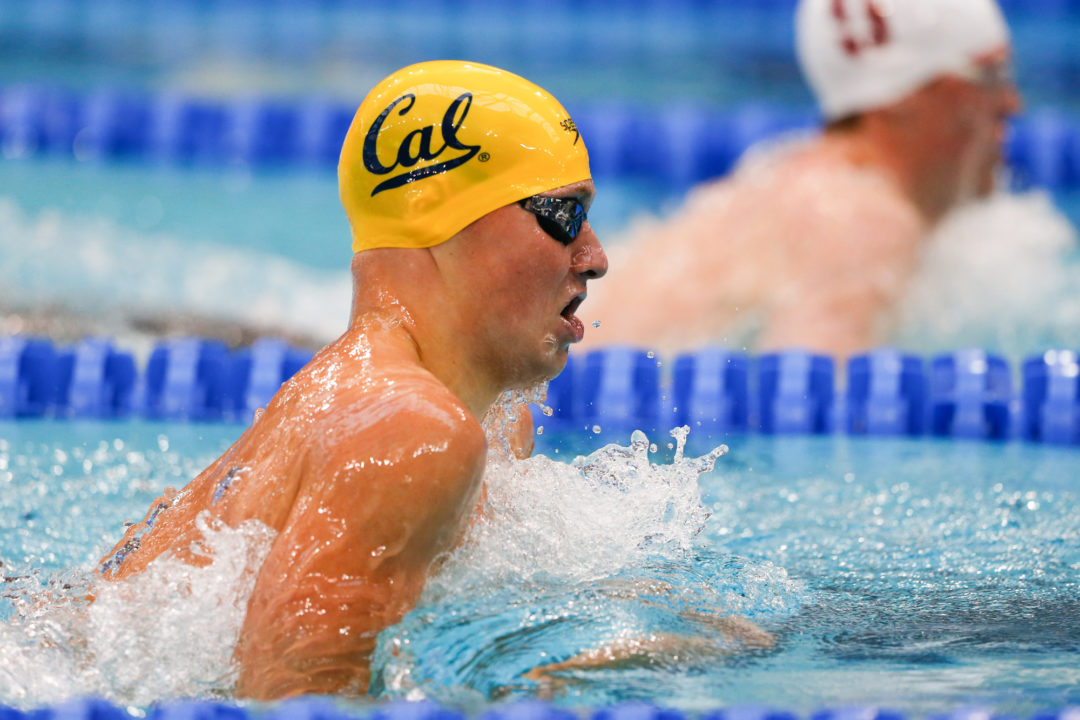 Seliskar & Whitley Both Swim Under Pac-12 Meet Record in 200 Breast