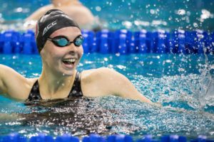Sophie Hansson Has Been Training Well But Shocked with 1:05 100 Breast in Semis