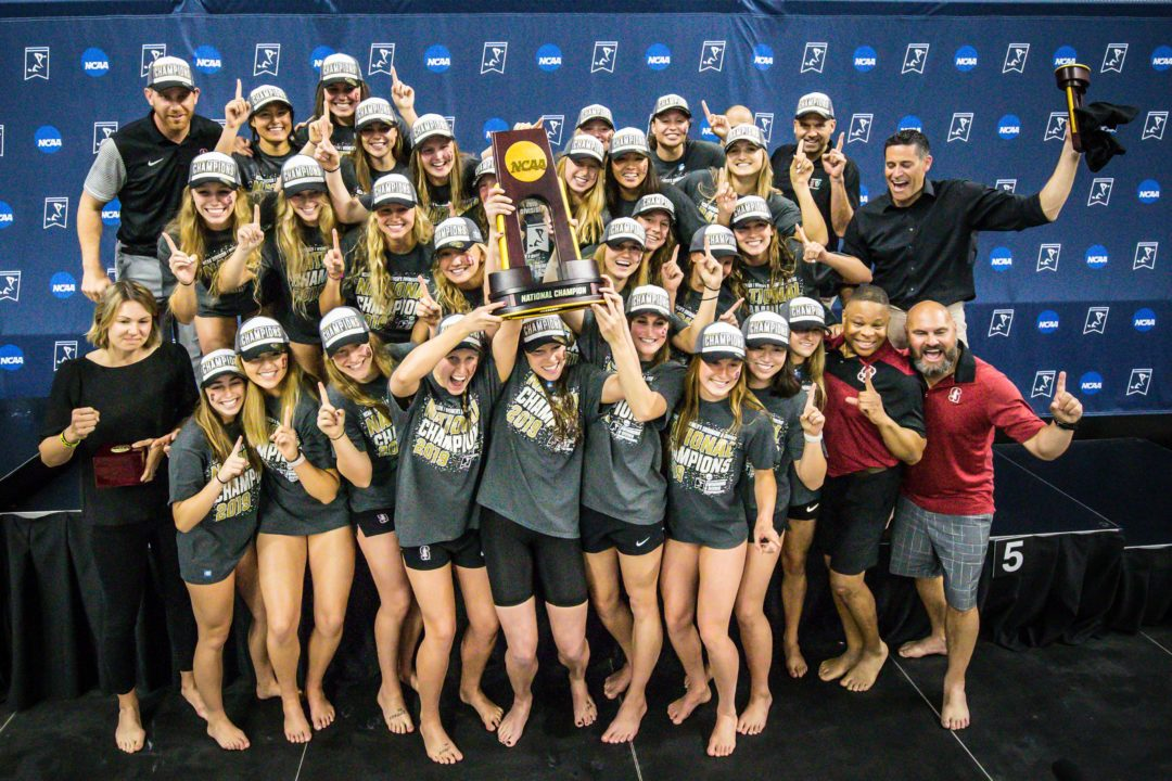 SwimSwam Pulse: 50% Picking Stanford To Win Women's NCAAs