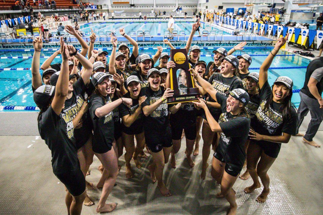 2019 Women's NCAA Championships Final Scoring Summary