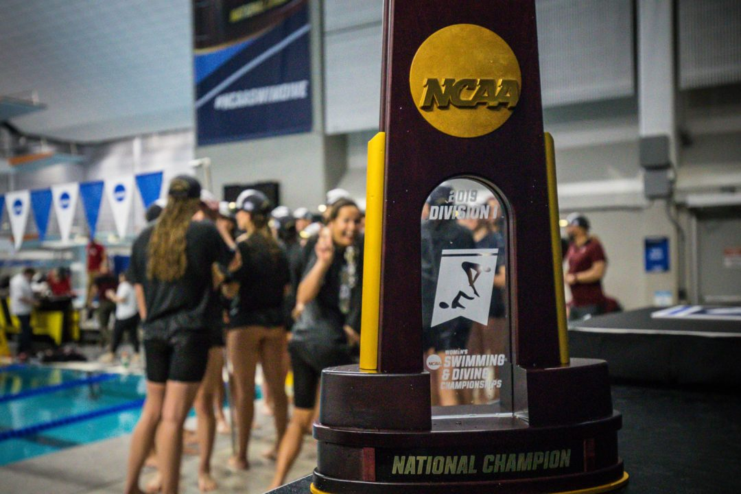 Scoring the 2020 NCAA Women's D1 Pre-Selection Psych Sheets