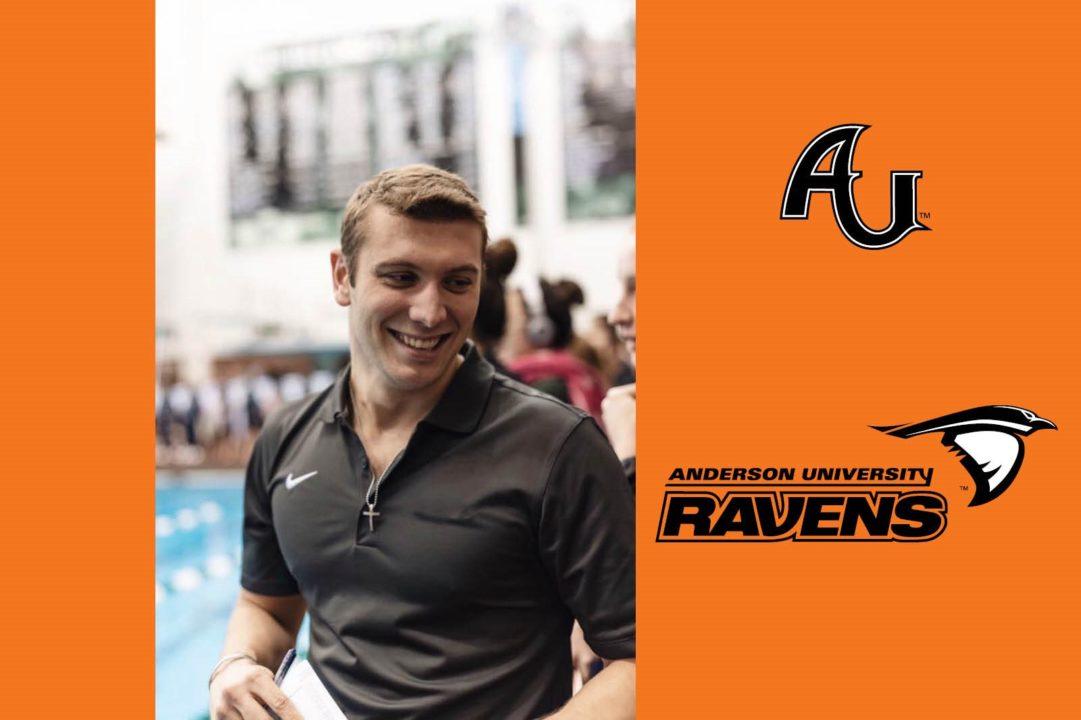 Anderson University Tabs Tanner Barton as Head Coach