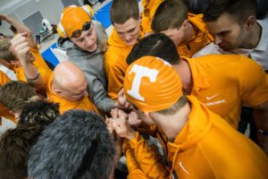 Practice + Pancakes: Tennessee Men Hit Suited Top-End Speed Post-Weight Workout