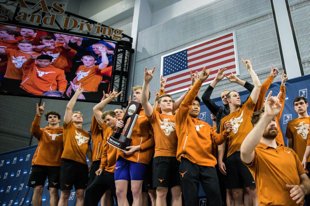 College Swimming Previews: Underclassmen and Transfers Buoy #2 Texas Men