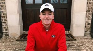 Georgia Continues to Build Breaststroke Group with Thomas Strother