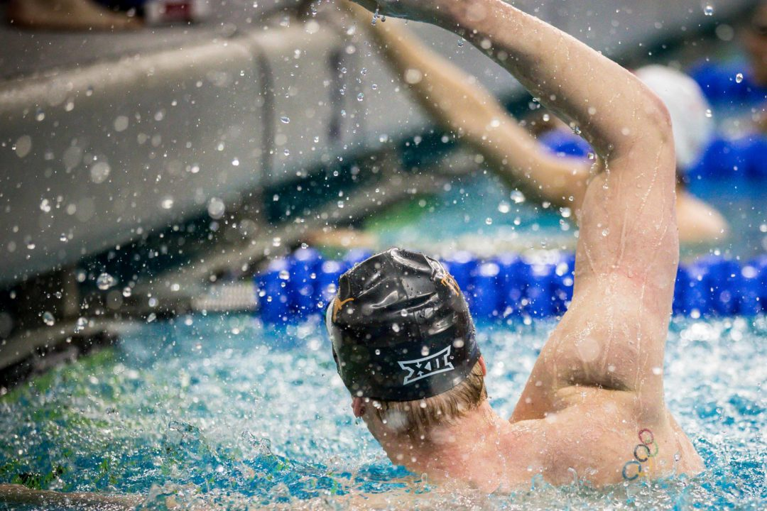 Townley Haas Comments on Gutsy 500 Free NCAA Record (Video)