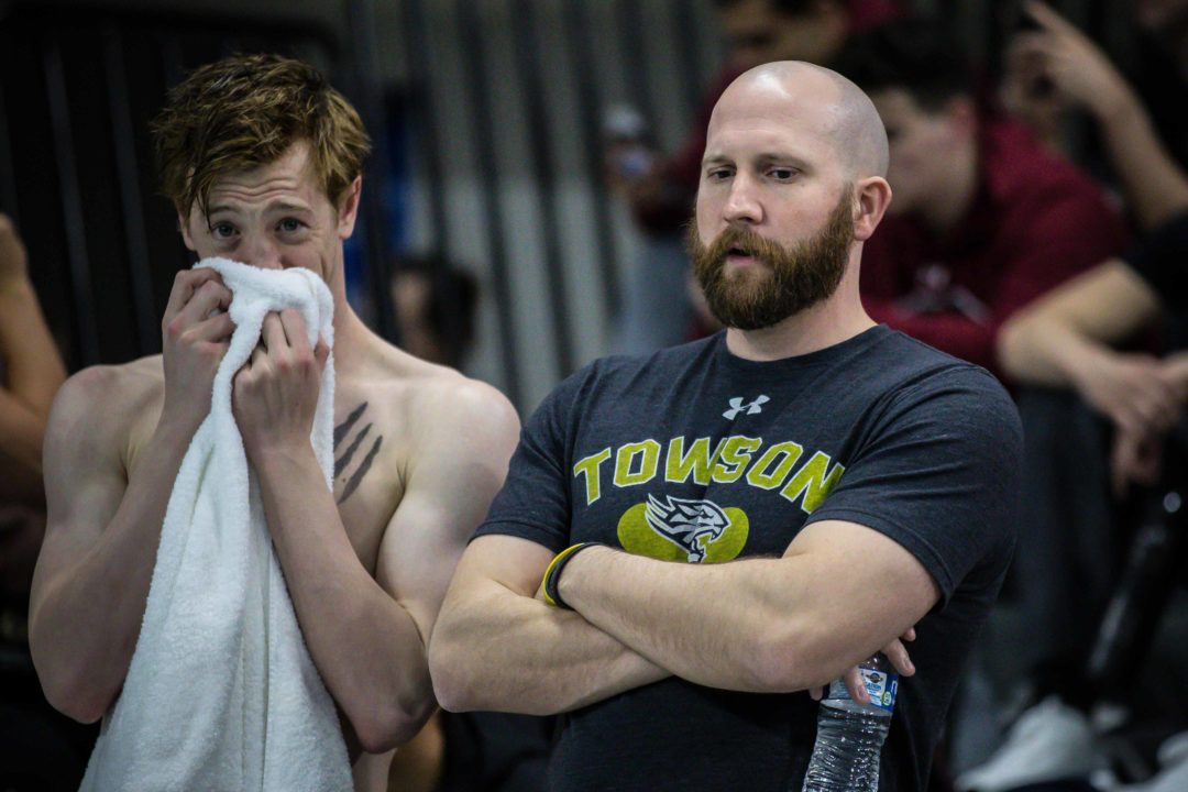 Towson Men End W&M's Streak, Capture First CAA Championship