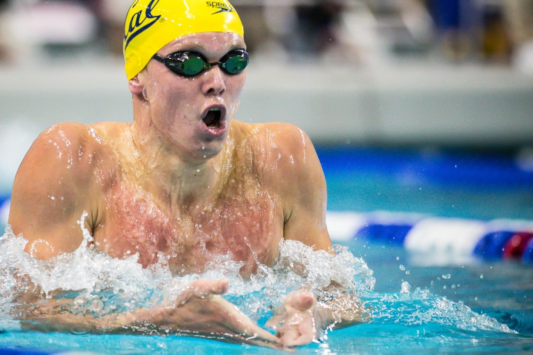 2020 M. Pac-12 Championships: Cal's Julian Scratches 200 IM on Day 2