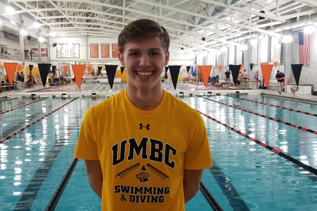 Eagle Swim Team's Luke Gude Commits to UMBC for 2019-20