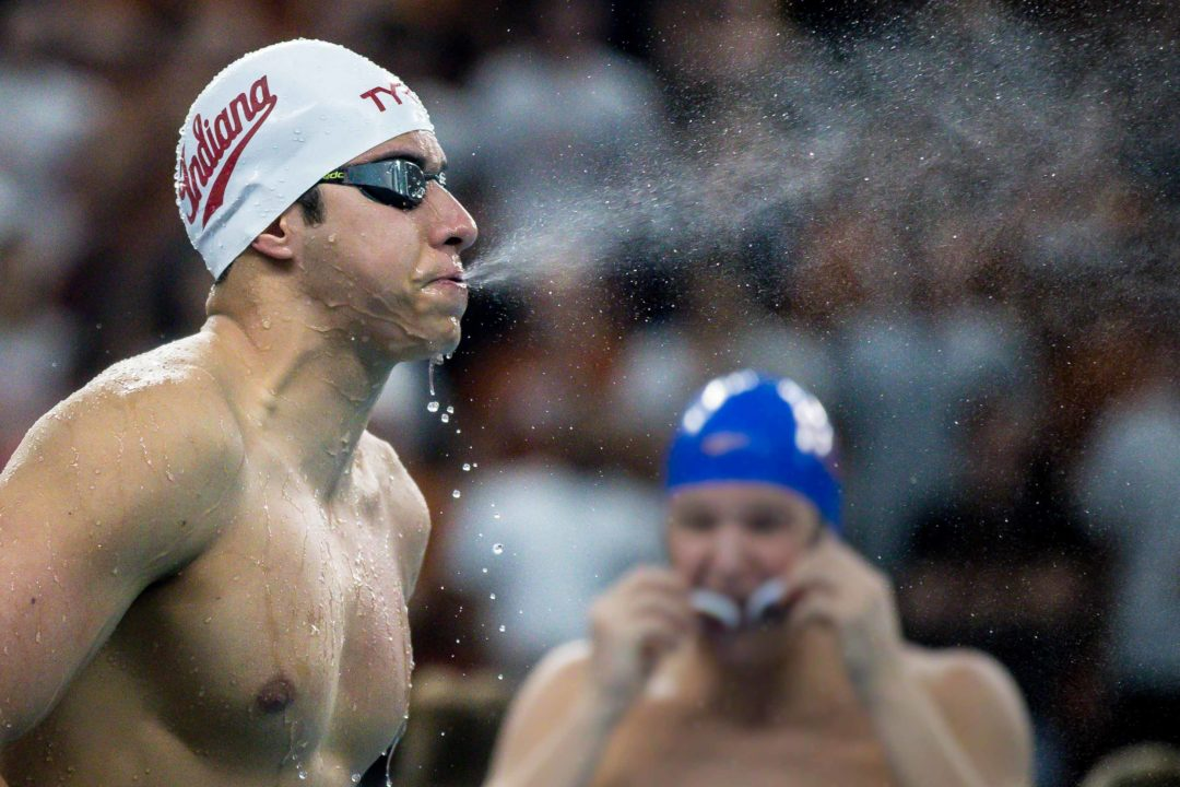 Indiana's Mohamed Samy Chooses 100 Free over 200 Back on Saturday (HEAT SHEETS)