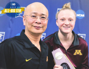 Sarah Bacon on Ending her NCAA Career as 1 & 3 Meter Springboard Champion