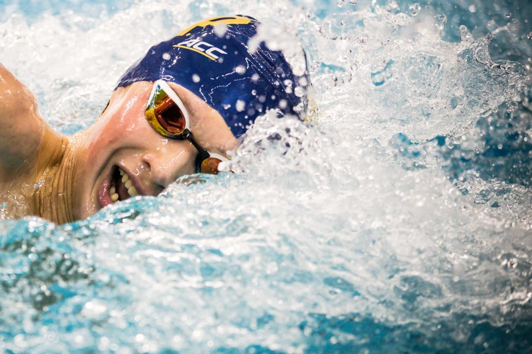 Yeadon's 8:57 Sets Pool Record as Notre Dame Tops Florida State