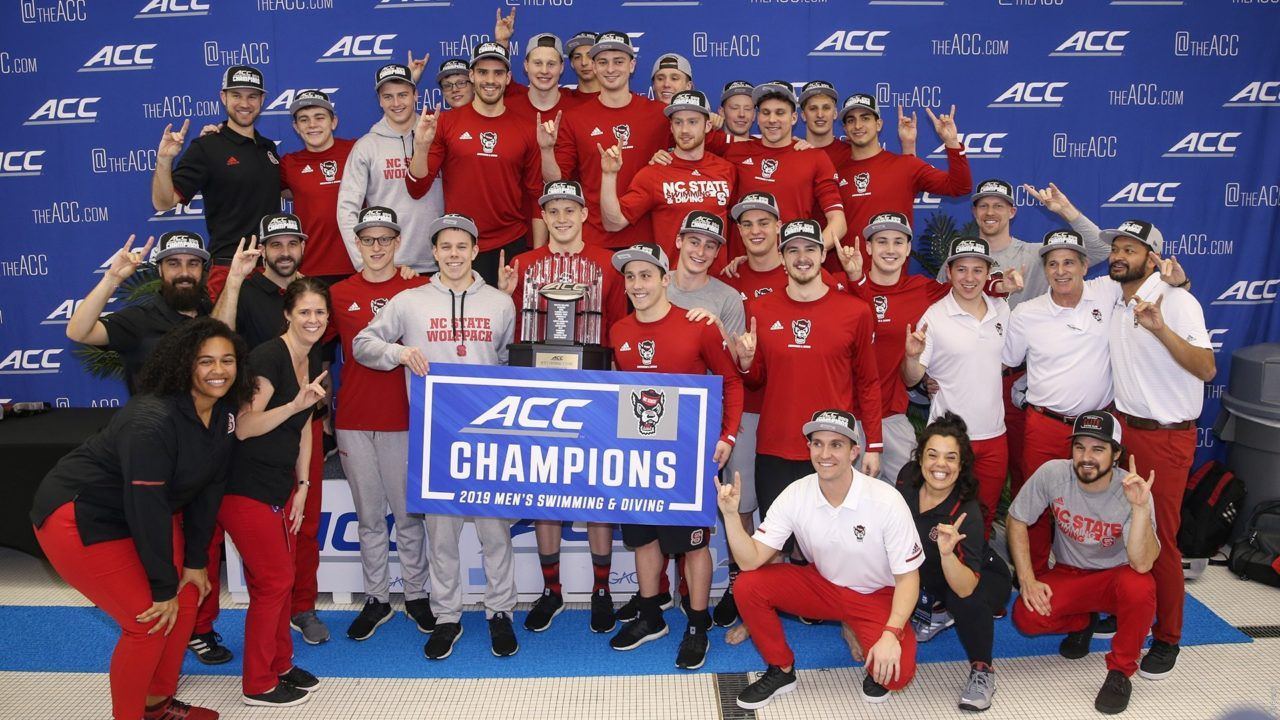 2019 ACC Men's Championships Scoring Breakdown