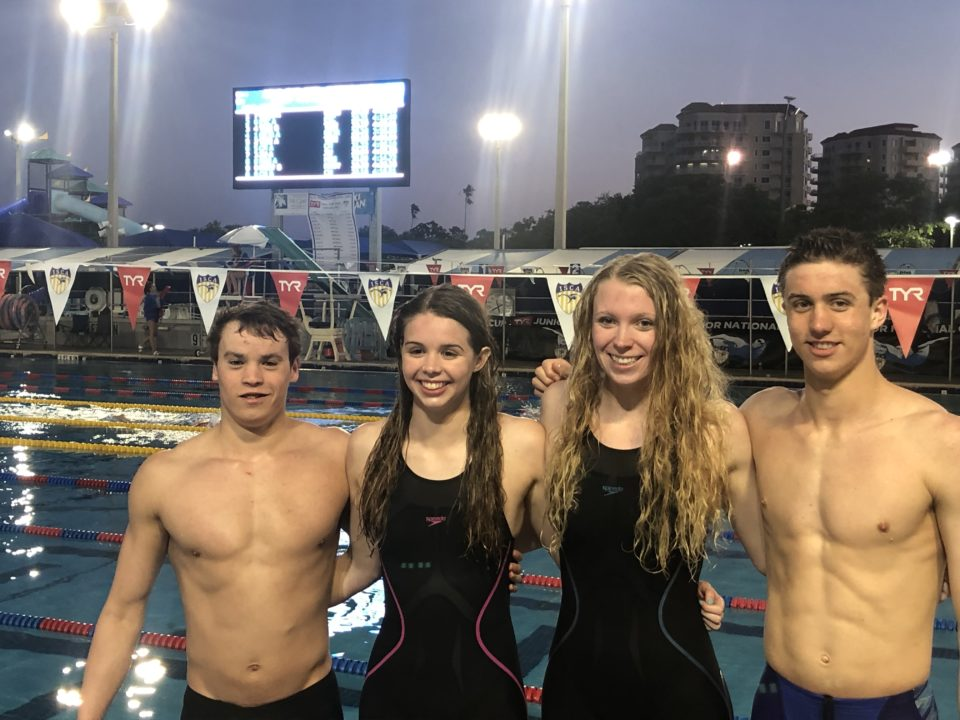 Virginia Gators Break 400 Meter Mixed Medley Relay NAG Record