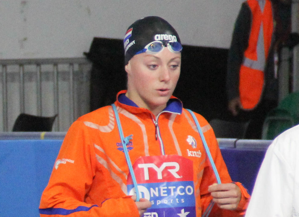 Toussaint Tears Up Dutch Record In SCM 100 Back; 7th All-Time Performer