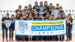 2019 Pac 12 Women's Championships Scoring Breakdown