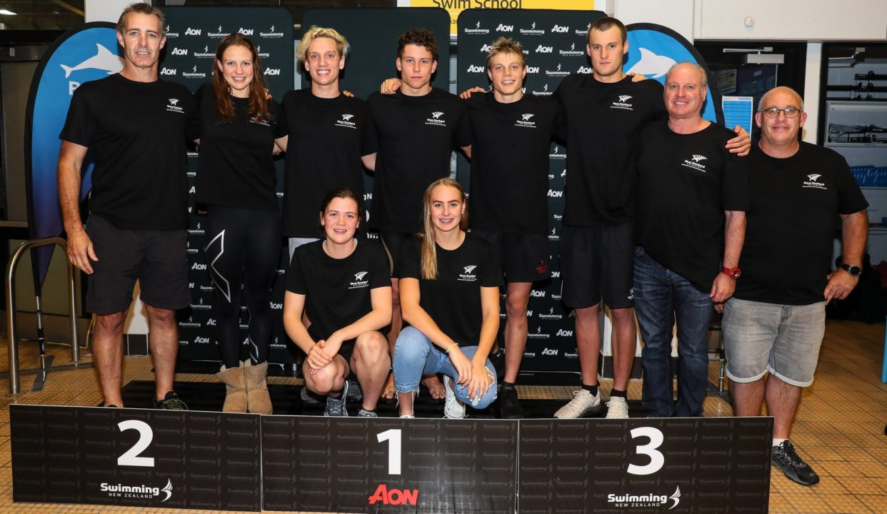 Swimming New Zealand Announce 7 Swimmer Team to World Junior Champs