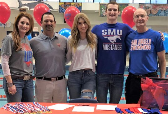SMU Adds Swimming Late-Comer Riley Hill to 2019 Signing Class