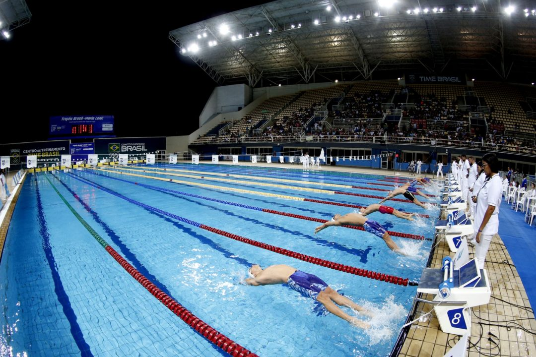 Brazil Still Planning to Hold Olympic Swimming Trials, But Without Spectators