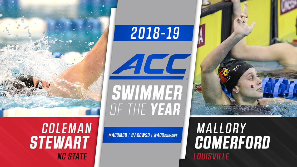 Comerford, Stewart Lead ACC 2018-19 Award Winners