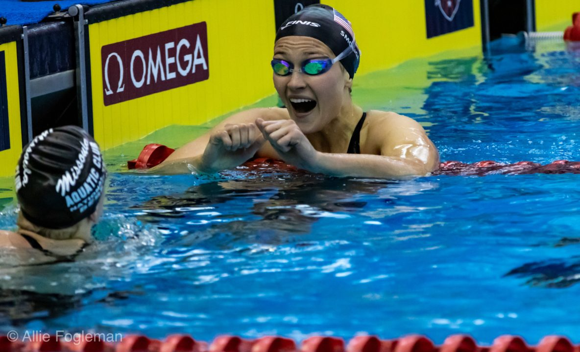 "Olivia Smoliga on Training Camp: ""I was going 1:13's 100 Backstroke Fast"" (Video)"