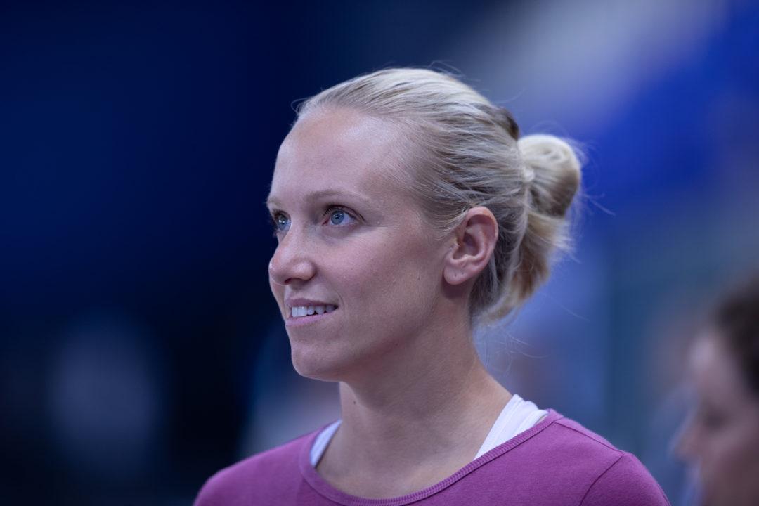 L'Olimpionica Dana Vollmer Si RItira. Ultima Gara Ai Campionati Estivi US