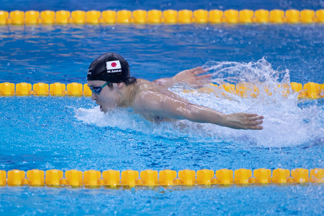 Olympic Silver Medalist Masato Sakai Puts Up Fastest 2Fly Since 2017 Worlds