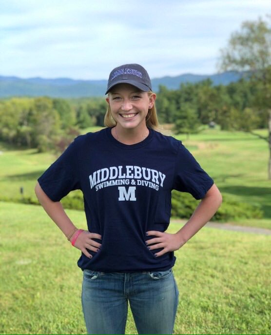 Illinois Freestyler Katie Cantrell Commits to D-III Middlebury College