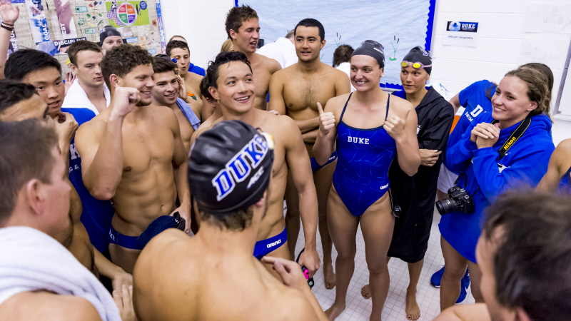 Duke Women Break Two Relay Pool Records in Dual with Queens (NC)