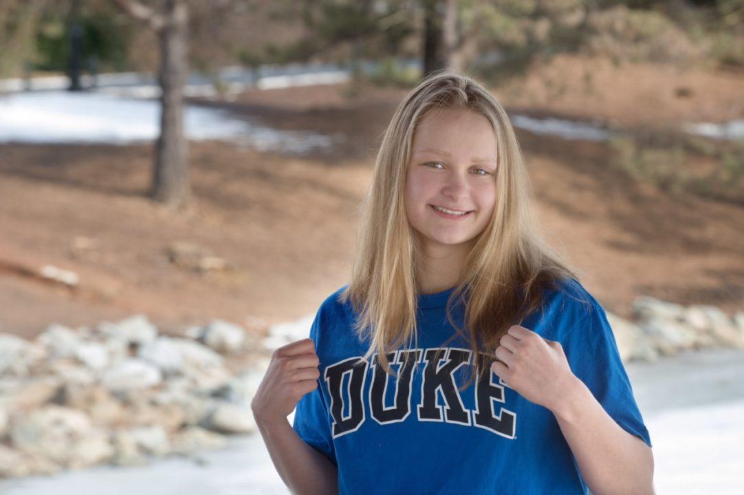 5x Maryland HS Champ Catherine Belyakov Verbally Commits to Duke