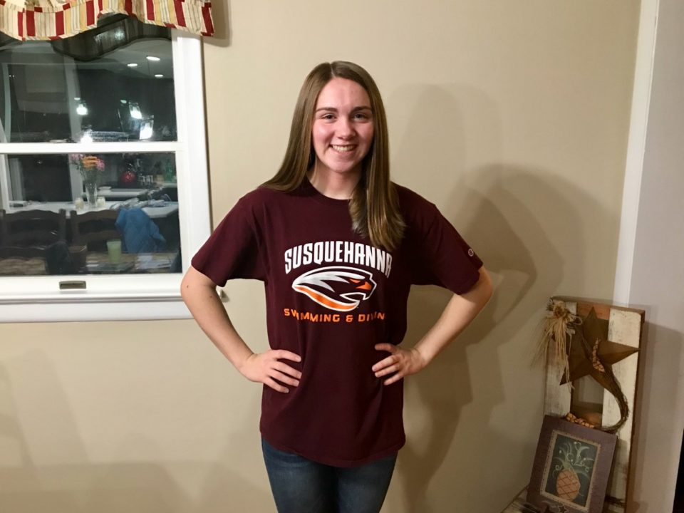 Susquehanna Receives Commitment from Breaststroker Haley Muth