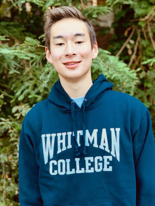 Jackson Masson of Orinda Aquatics Verbally Commits to Whitman College