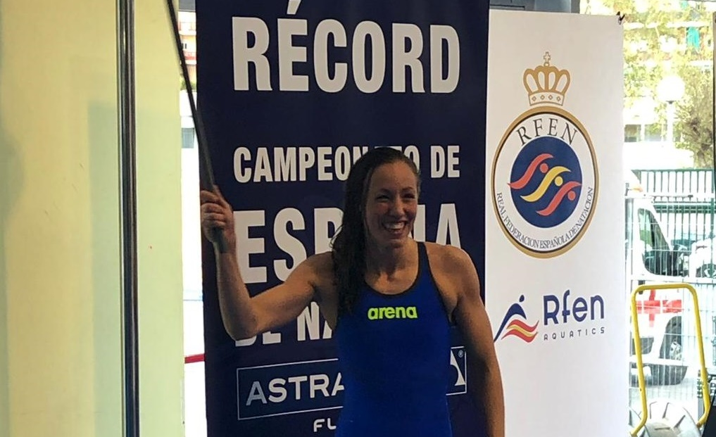 Jessica Vall Breaks Own 50 BR Spanish National Record at Spanish Open