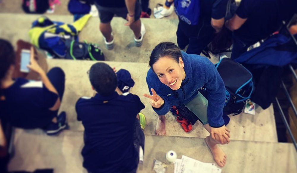 Jessica Vall consigue la mínima mundialista el 4º día del Open
