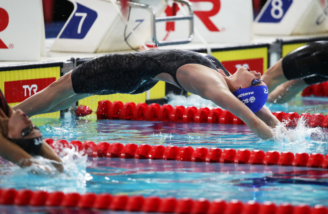 Kathleen Dawson Unleashes 58.65 100 Back As GBR's #2 All-Time