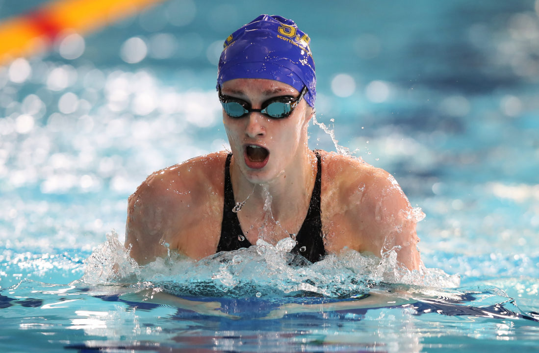 Katie Robertson Fires Off 50 Fly PB, Duncan Scott Hits 1:59 2IM